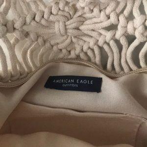 American Eagle Outfitters Bags - Boho Wooden Handle Bag